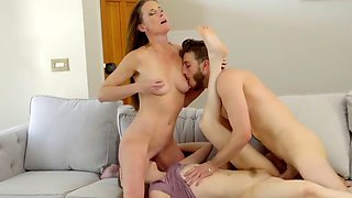 Son fuck his stepmom and his sister