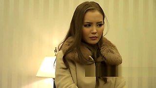 ♥ JAPANESE CUTIE ROUGH SEX Asian Boss Girl Coerce Back in Porn ♥