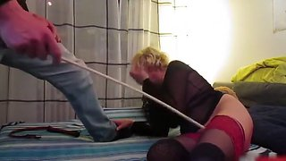 Older a-gap spanking and sex