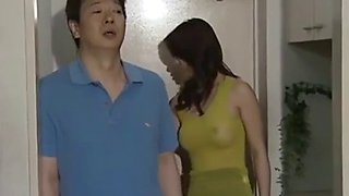 The asian japanese mature milf next door is very lonely