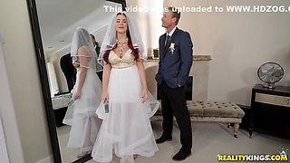 Father In Law Bangs Bride Before Wedding With Ryan Mclane And Skyla Novea