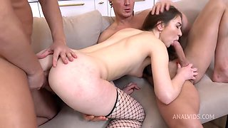 Vivian Grace - Little Red Riding Hood Turned The Wrong Way! First Time Hard Double Penetration Nrx082