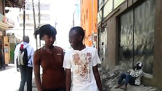 African Amateur Teen Sex In Public Restroom
