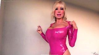 Blondie b latex doll