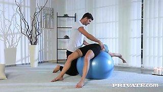 Private silvia dellai from yoga to anal with the flexible silvia dellai 1080