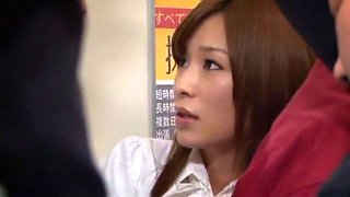Fabulous Japanese chick in Amazing Public, Compilation JAV scene